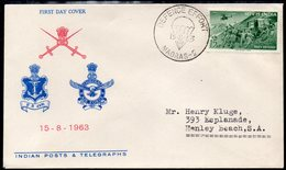 INDIA, 1963 DEFENCE EFFORT FDC - Covers & Documents