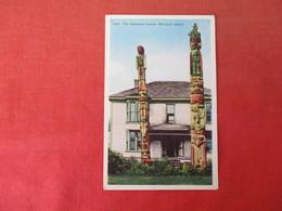 The Kadashan Totems Wrangell Alaska   Ref 3165 - Native Americans