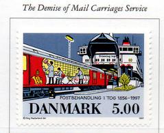 PIA - DANIMARCA -1997 : Soppressione Dei Servizi Postali Sul Treno - (Yv 1160) - Danimarca