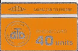 TARJETAS TELEFONICAS TIRADA CORTA - Gibraltar