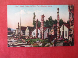 Totem's Indian Village Howkan    Alaska   Ref 3165 - Native Americans
