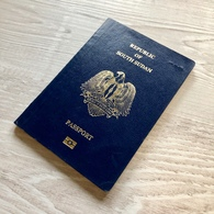 SOUTH SUDAN Collectible BIOMETRIC Passport Passeport Reisepass Pasaporte Passaporto - Documents Historiques