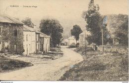 CUGNON ..-- Entrée Du Village . Vers WANFERCEE - BAULET ( Melle Lucy GOES ) . Voir Verso . - Bertrix