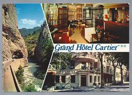 FR.- QUILLAN. GRAND HOTEL CARTIER. Porte Des Gorges De L'Aude. Au Centre Des Chateaux Cathares. - Hotel's & Restaurants