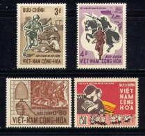 VNS - 297/300** - 3è ANNIVERSAIRE DE LA REVOLUTION - Viêt-Nam