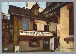 FR.- LOURDES. Maison Natale De Ste Bernadette. Moulin De Boly. - Hotel's & Restaurants