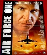 Aff Ciné Neuve AIR FORCE 1 (1997) Harrison Ford 40x60cm - Posters