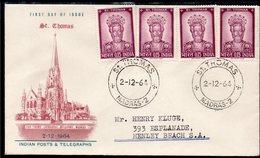 INDIA, 1964 St THOMAS FDC - India