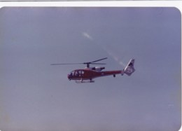 AL98 Aviation Photograph - Display Helicopter - Aviation