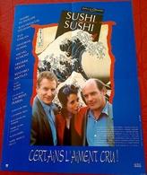Aff Ciné Orig SUSHI SUSHI (1990) Jean-François Stévenin ANDRE DUSSOLLIER 40X60 - Posters