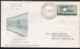 INDIA, 1965 TROMBAY REACTOR FDC - India