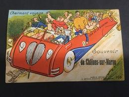 Systeme.. Souvenir. De Chàlons- Sur - Marne. - Reims