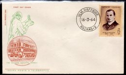 INDIA, 1964 W.M.HAFFKINE FDC - Covers & Documents