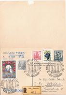 Postal History: Austria / Germany Postal Stationery Card With Answer - Entiers Postaux