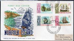 NORFOLK Is, 1967 SHIP FDC - Norfolk Island