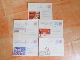 Lot De 5 Entiers Postaux Publibel (H1) - Entiers Postaux