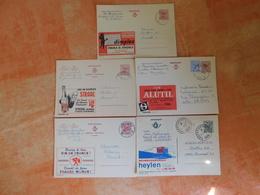 Lot De 5 Entiers Postaux Publibel (G1) - Publibels