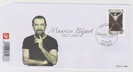 België - Belgium - Belgique FDC 1666 Personalities - Maurice Béjart - Mi 3974 - FDC