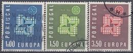 PORTUGAL 1961 Nº 888/891 USADO - 1910-... République