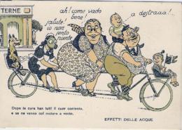 """1925-umoristica """"Effetti Delle Acque"""" - Humour"""