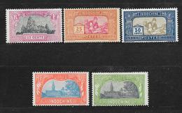 INDOCHINE N° 140.141.142.143.144 NEUF * - COTE = 39.60 € - Indochina (1889-1945)