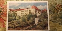 OLD USSR Postcard Omsk -KIROV MONUMENT-  1961 - Russie