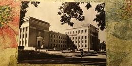 KAZAKHSTAN. Academy Of Science .  Soviet  Postcard - Old Pc 1963 - Rare! - Kazakhstan