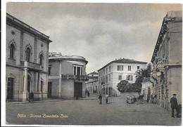 Olbia (Sassari). Piazza Benedetto Brin. - Olbia