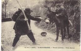 Auvergne - Trois Entêtés, - Personnages