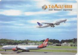 Calendar Russia 2013 - Krasnoyarsk Airlines Talariy - Airlines - Aviation - Aircraft - Advertising - Calendriers