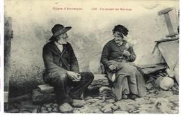 Auvergne - Types D'auvergne - Un Projet De Mariage - Personnages