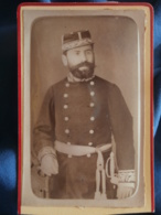 Photo CDV A. Albert à Paris - Officier Médecin Militaire Identifié (Xavier Darlan) Circa 1875-80 L241 - Anciennes (Av. 1900)