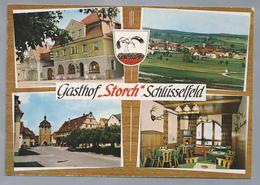 DE.- SCHLÜSSENFELD. Gasthof STORCH. - Hotel's & Restaurants