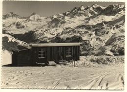 BIVIO Cuolms-Hütte Blick Auf Tinzenhorn - GR Grisons