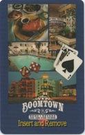 Carte Clé Hôtel Avec Casino Adjoint : Boomtown Reno Nevada - Cartes D'hotel