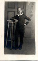 Carte Photo. Matelot. Coprs Expéditionnaire D'orient. 1915. à Bord Du Vinh Long - Guerre 1914-18