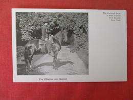 Private Mailing Card Roycroft Shop  East Aurora NY  Fra Elbertus & Garnet  Ref 3165 - NY - New York