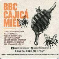 Lote 426, Colombia, Posavaso, Coaster, Bogota Beer Company, BBC, Cajica Miel - Portavasos