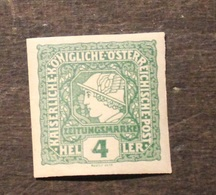 AUTRICHE 1916 TIMBRE NEUF AVEC TRACE DE CHARNIERE 4 Heller - 1850-1918 Empire