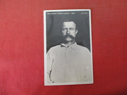 RPPC  Buckshin Frank Leslie 1881  Western Gunfighter-- Has Crease  Ref 3165 - Personnages Historiques