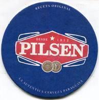 Lote Pa3, Paraguay, Posavaso, Coaster, Pilsen, Fresca - Portavasos