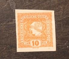 AUTRICHE 1916 TIMBRE NEUF AVEC TRACE DE CHARNIERE 10 Heller - 1850-1918 Empire