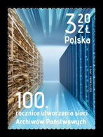 Poland 2019 Mih. 5088 Network Of State Archives MNH ** - 1944-.... Republiek
