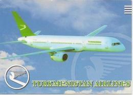 Calendar Ukraine 2011 - Turkmen Airlines - Aircraft - Aircraft - Minaret -  Advertising. - Calendriers