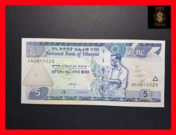 ETHIOPIA 5 Birr  2003 P. 47 C UNC - Ethiopie