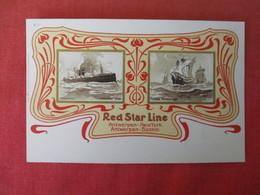 Red Star Line Antwerpen- NY Antwerpen-Boston-- Vaderland 1900 Santa Maria 1492-----   Ref 3165 - Steamers