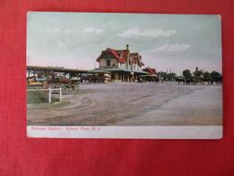 R.R. Station      Asbury Park  NJ ----   Ref 3166 - Other