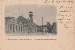 Y7-62) HENIN LIETARD (PAS DE CALAIS) FOSSE BOISGELIN (N° 7 DAHOMEY DES MINES DE DOURGES) - (OBLITERATION 1903 - 2 SCANS) - Henin-Beaumont