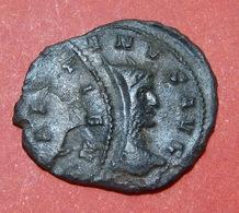 MINT ERROR, GALLIENUS Bronze Coin, ANTONINIAN Very Rare - 4. Other Roman Coins