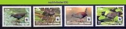 Nfa009s WWF FAUNA VOGELS WATERHOEN SPOTLESS CRAKE BIRDS VÖGEL AVES OISEAUX COOK ISLANDS 2014 PF/MNH - W.W.F.